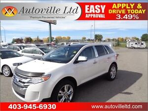 2011 Ford Edge Limited 90 DAYS NO PAYMENTS