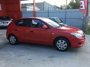 2009 Hyundai i30 FD MY09 SLX Red 5 Speed Manual Hatchback Clontarf Redcliffe Area Preview
