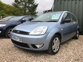 FORD FIESTA 1.4 Zetec 3dr [Climate] (blue) 2006