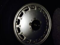 "Four 15"" Mercedes Aluminium Rims off 560 SL"
