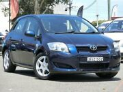 2009 Toyota Corolla ZRE152R Ascent Blue 4 Speed Automatic Hatchback Condell Park Bankstown Area Preview