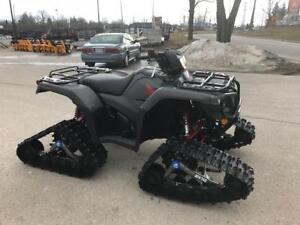 2019 Honda RubiconTRX 500 Deluxe with Track Package