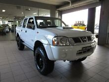 2012 Nissan Navara D22 Series 5 ST-R (4x4) White 5 Speed Manual Dual Cab Pick-up Thornleigh Hornsby Area Preview
