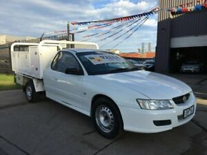2005 Holden Commodore VZ One Tonner Heron White 4 Speed Automatic Cab Chassis Brooklyn Brimbank Area Preview