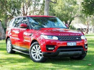 2015 Land Rover Range Rover Sport L494 16MY TdV6 CommandShift SE Red 8 Speed Sports Automatic Wagon