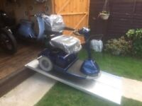Large Heavy Duty Sterling Mobility Scooter Works Well All Terrain Only £150 Was £600