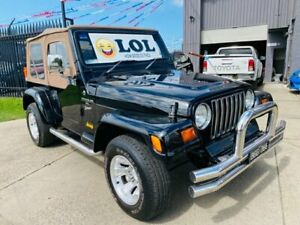 1999 Jeep Wrangler TJ Sport (4x4) Black 3 Speed Automatic 4x4 Softtop Brooklyn Brimbank Area Preview