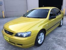 2003 Ford Falcon BA XT Yellow 4 Speed Automatic Sedan Lisarow Gosford Area Preview