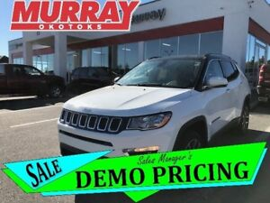 2018 Jeep Compass Limited - * UCONNECT! LEATHER! HEATED! *