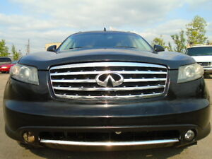 2006 Infiniti FX35 SPORT-AWD-LEATHER-SUNROOF-NAVI-B/CAMERA