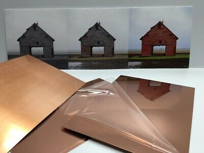 Copper Sheet 16oz- 24 Gauge Copper Sheet Bright Polished 8x8