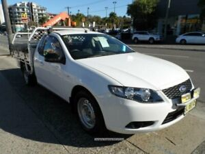 2011 Ford Falcon FG Upgrade White 6 Speed Auto Seq Sportshift Cab Chassis Rockdale Rockdale Area Preview