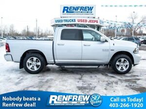 2014 Ram 1500 4WD Sport, Heated Seats, Remote Start, Bluetooth,