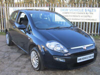 FIAT PUNTO 1.4 8V EVO ACTIVE 3DR BLUE 2010 (60) ONLY 53K FSH / 1 PREVIOUS OWNER!
