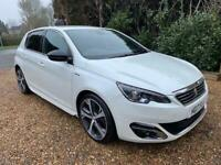 2017 Peugeot 308 2.0 HDi - GT Line - 5dr - AUTOMATIC - Pearl White - 63k miles