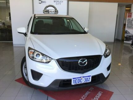 2014 Mazda CX-5 KE1031 MY14 Maxx SKYACTIV-Drive AWD White 6 Speed Sports Automatic Wagon Morley Bayswater Area Preview
