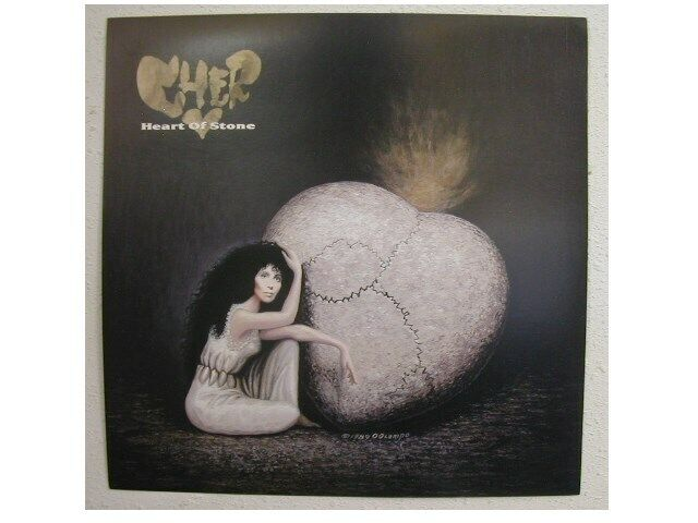 Cher Poster Flat Heart of Stone Mint