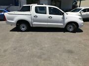 2011 Toyota Hilux GGN15R MY11 Upgrade SR White 5 Speed Automatic Dual Cab Pickup Sutherland Sutherland Area Preview