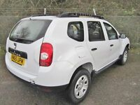Dacia Duster 1.5 Ambiance DCi 110 Turbo Diesel 5DR 4x2 (white) 2015