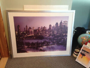 Beau cadre de New York 35x46 - Very nice print of NYC in Winter