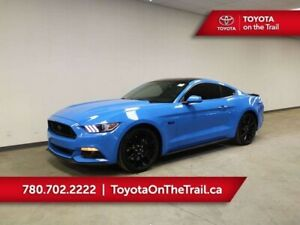 2017 Ford Mustang GT 5.0; 435 HP!! 6 SPEED MANUAL, BUTTON START,