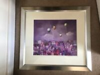 """Bill Tolley """"Purple Haze"""" Limited Edition Print 32/225 mounted and framed with cert."""
