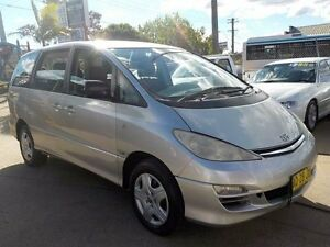 2003 Toyota Tarago ACR30R MY03 GLi Silver 4 Speed Automatic Wagon North St Marys Penrith Area Preview