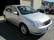 2003 Toyota Corolla ZZE122R Conquest Seca Silver 4 Speed Automatic Hatchback Werribee Wyndham Area Preview