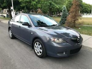 2008 MAZDA 3, MANUEL , AIR CLIMATISE , 4 CYLINDRE 2.0 LITRES