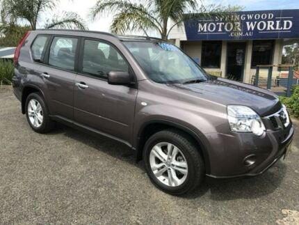 2012 Nissan X-Trail ST Grey Automatic Wagon