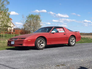 1989 Pontiac Firebird Rust free barn find