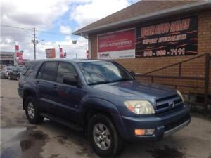 2004 Toyota 4Runner SR5 4X4***ONLY 171 KMS**NEEDS WORK**AS IS