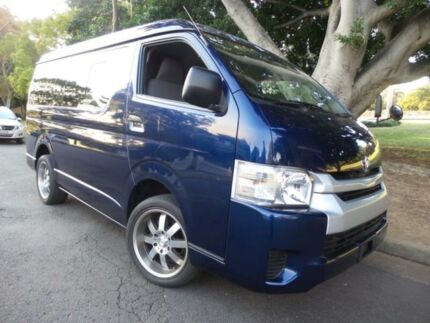 2014 Toyota Hiace WIde Body LWB 4WD 10 seater Low Roof Blue Automatic Van