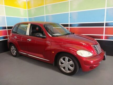 2004 Chrysler PT Cruiser MY05 Upgrade Limited Burgundy 5 Speed Manual Hatchback Wangara Wanneroo Area Preview