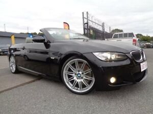 2009 BMW 335i E93 MY09 Black 7 Speed Auto Direct Shift Convertible Pooraka Salisbury Area Preview