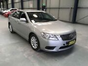 2010 Toyota Aurion GSV40R 09 Upgrade AT-X Silver 6 Speed Auto Sequential Sedan Dubbo Dubbo Area Preview