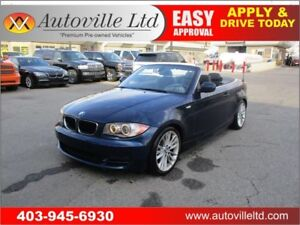 2011 BMW 128i CONVERTIBLE LEATHER HEATED SEATS LOW KM