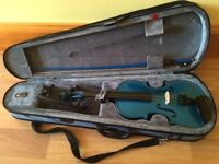 Stentor 3/4 violin, chin rest and rosin