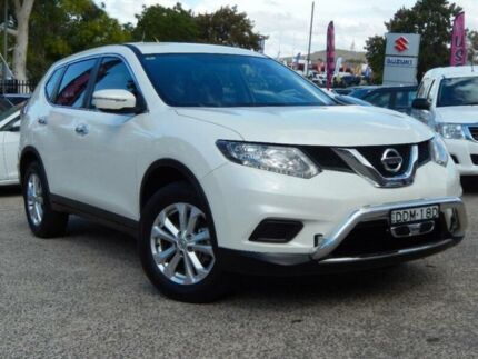 2016 Nissan X-Trail T32 ST (FWD) White Continuous Variable Wagon