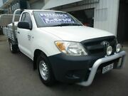 2008 Toyota Hilux TGN16R MY08 Workmate 4x2 White 5 Speed Manual Cab Chassis Edwardstown Marion Area Preview