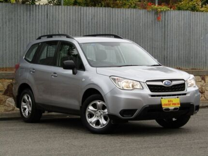 2014 Subaru Forester S4 MY14 2.5i Lineartronic AWD Silver 6 Speed Constant Variable Wagon Melrose Park Mitcham Area Preview