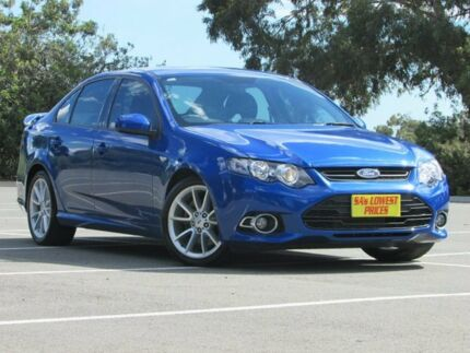 2014 Ford Falcon FG MkII XR6 Turbo Blue 6 Speed Sports Automatic Sedan Blair Athol Port Adelaide Area Preview