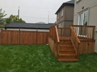 Decks and Fences!! Post Hole digging and setting!