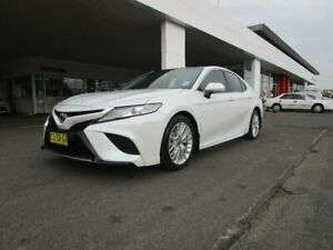 2018 Toyota Camry ASV70R MY19 SL Frosted White 6 Speed Automatic Sedan South Hurstville Kogarah Area Preview