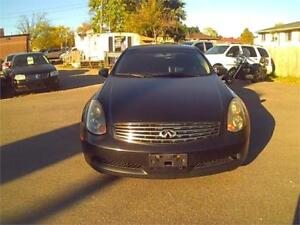 2004 Infiniti G53 / Mounted Snows Included