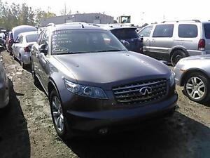 INFINITI  FX 35 & FX 45 (2003/2007 / FOR PARTS PARTS ONLY)