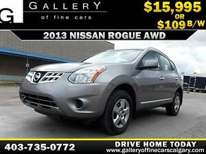 2013 Nissan Rogue S AWD $109 BI-WEEKLY APPLY NOW DRIVE NOW