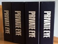 Private Eye magazine - large collection in binders