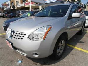 2010 Nissan Rogue   SUV  Silver  Only  129,000 Km