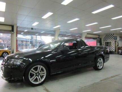 2009 Holden Commodore VE MY09.5 SV6 Black 6 Speed Manual Utility Fyshwick South Canberra Preview